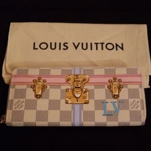 Authentic LV Neverfull Summer 2018 Wallet